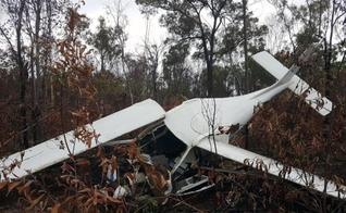 Pastor sobrevive a queda de avião de missão batista na Austrália. (Foto: Reprodução/Life Flight)