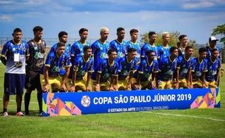 Visão Celeste e seu time Sub-20 na Copa São Paulo de Futebol Júnior. (Foto: Divulgação/Visão Celeste)