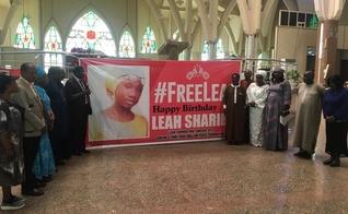 Vigília de Oração na Igreja marca aniversário de Leah Sharibu. (Foto: Reprodução/TVC News)
