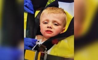 Kenneth Howard, de 1 ano, foi encontrado em perfeito estado após três dias desaparecido. (Foto: Reprodução/WYMT)