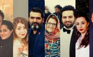 Cristãos iranianos presos por sua fé em Jesus. (Foto: Reprodução/Article 18)