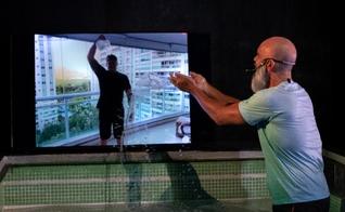 Pastor Pedrão tem feito batismos pela internet na Comunidade Batista do Rio. (Foto: Divulgação)
