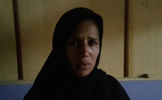 Elishba Bibi, que foi espancada em 2014; mulheres cristãs são frequentemente agredidas em público no Paquistão. (Foto: Reprodução / Uca News)