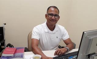 O enfermeiro Robson Silva de Souza é responsável pelo projeto da Igreja Cristã Maranata. (Foto: Arquivo Pessoal)