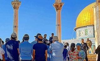 Peregrinos judeus no Monte do Templo. (Foto: Reprodução / Shutterstock)
