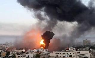 Israel é atacado pelo Líbano e retalia foguetes. (Foto: Ibraheem Abu Mustafa/Reuters)
