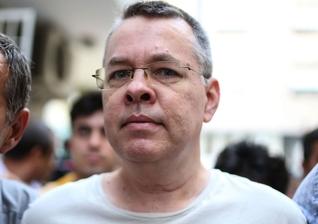 O pastor Andrew Brunson foi transferido para prisão domiciliar na Turquia em julho. (Foto: Agence France-presse/Getty Images)