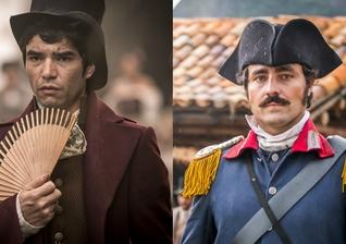 """Escrita por Mario Teixeira, a cena foi liberada pela direção da Globo e deve ir ao ar pela novela """"Liberdade, Liberdade"""". (Imagem: IG)"""