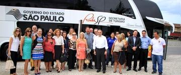 Gabinete Itinerante reúne líderes públicos em prol do turismo paulista em Santos