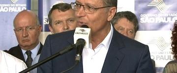 Alckmin diz que 'não está tendo greve' de professores em SP