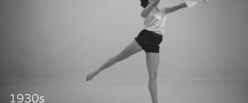 Vídeo mostra a transformação das roupas e exercícios fisicos nos últimos 100 anos