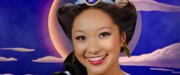 Mulher se transforma em sete princesas da Disney em vídeo