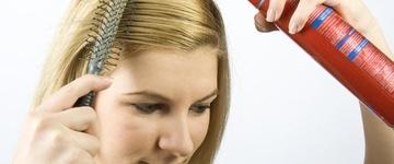 Quando usado em excesso, shampoo seco pode trazer danos à saúde