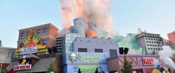 """Réplica da cidade do seriado """"Os Simpsons"""" é inaugurada em parque de Orlando"""