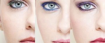Aprenda a usar máscaras de cílios colorida, tendência do momento