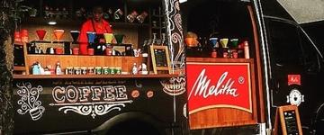 Marca promove degustação de café em trucks