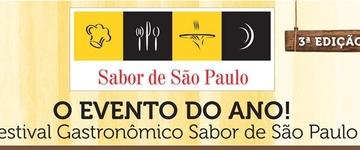 3ª Edição do Festival Gastronômico Sabor de São Paulo em Ribeirão Preto começa nesta quinta-feira (27)
