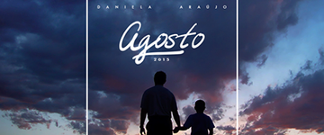 Daniela Araújo divulga a canção 'Agosto', com participação de Mauro Henrique