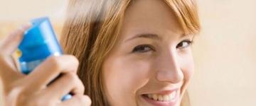 Conheça os benefícios do shampoo seco