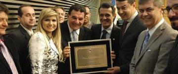 Pastores são homenageados na Assembleia Legislativa durante celebração da CIEAB