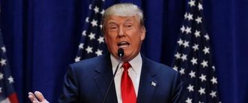Donald Trump diz que pode ser um grande representante dos cristãos, se eleito presidente dos EUA