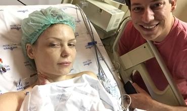 Bianca Toledo em nova cirurgia