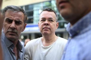"""Pastor Andrew Brunson está preso há quase dois anos, sob falsas acusações de """"terrorismo"""" contra o governo turco. (Foto: Associated Press)"""