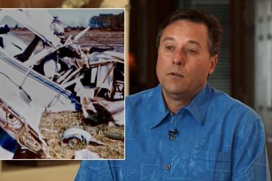O piloto Joe Townsend foi encontrado por Deus no momento mais difícil. (Foto: The 700 Club)