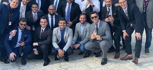 Líderes brasileiros participaram do Dia de Oração pela Paz de Jerusalém. (Foto: Reprodução/Instagram)