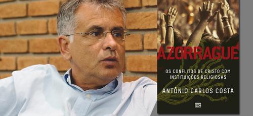 No livro, Antônio Carlos Costa fala sobre o modelo cristão de igreja apresentado por Jesus. (Foto: Divulgação).