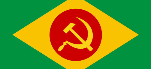 Imagem ilustrativa. Um alerta contra o comunismo no Brasil. (Foto: Reprodução)