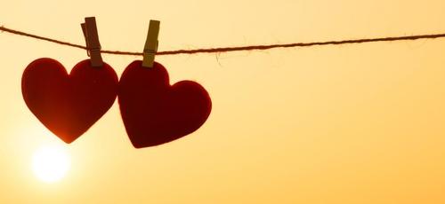 A lei do amor foi dada por um desses amores, Deus. (Foto: Jornal O Sul)
