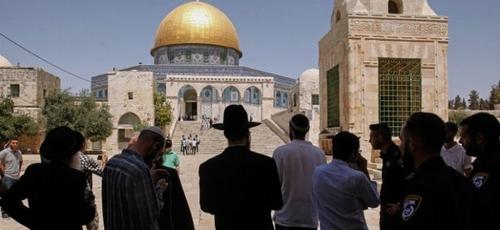 A visita de judeus ao Monte do Templo tem sido motivo de protestos por parte da Autoridade Palestina. (Foto: Israel Today)