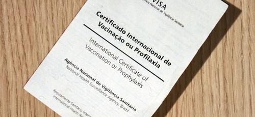 Anvisa liberou a emissão digital do certificado internacional de vacinação.  (Foto: Anvisa/Divulgação)