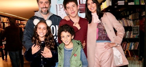 Marcos Mion e família. (Foto: Manuela Scarpa / Brazil News)