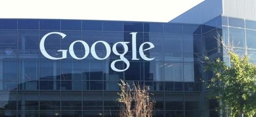 """Uma vista externa da sede do Google, também conhecida como """"Googleplex"""", em Mountain View, Califórnia, EUA. Foto tirada em 13 de abril de 2014. (Foto: Wikimedia Commons/Noah_Loverbear)"""