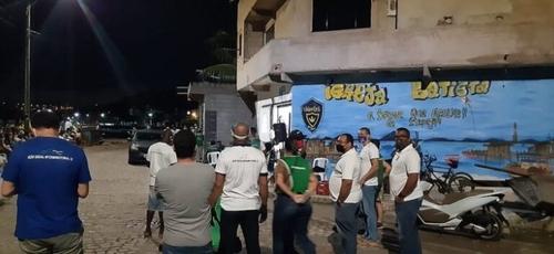 Polícia Militar encerrou culto sem notificar quantidade de pessoas em Salvador. (Foto: Reprodução)