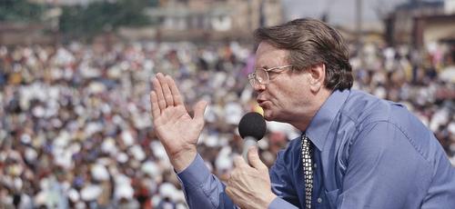 O evangelista Reinhard Bonnke faleceu neste sábado (7) aos 79 anos. (Foto: Christ for all Nations)