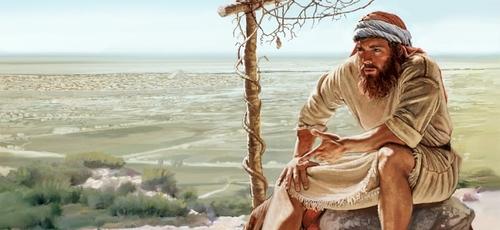 Por seu nacionalismo, Jonas prefere a morte à pregar para o povo de Nínive. (Imagem: JW)