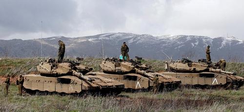 Colinas de Golã é território em constante tensão militar. (Foto: Reprodução/Sputnik)