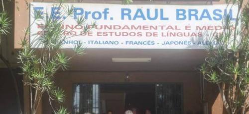 Escola pública em Suzano onde aconteceu o massacre de alunos e funcionários na manhã desta quarta-feira (13). (Foto: Reprodução/Internet)