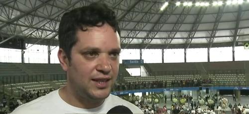 Gercialdo Melquíades de Oliveira, pai de Samuel. (Foto: Reprodução/Globo)