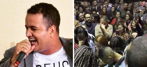 O cantor gospel Elyon Sosthenes foi baleado em tentativa de assalto. Nove pessoas se reconciliaram com Deus em oração no hospital. (Foto: Reprodução/Facebook)