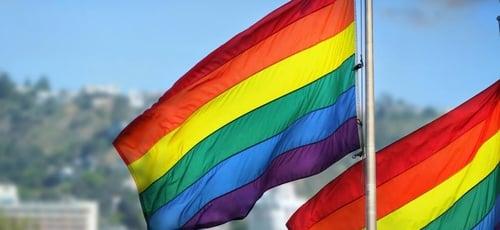 Bandeira LGBT. (Foto: Reprodução/Shutterstock)