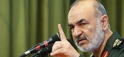 Hossein Salami, comandante em chefe da Guarda Revolucionária. (Foto: Reproduçãpo/Agência Tasnim)