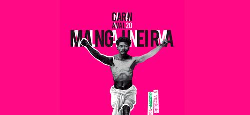 Imagem de divulgação do tema do samba-enredo 2020 da Mangueira. (Foto: Mangueira/Divulgação)