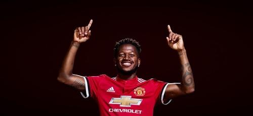 O jogador Fred é chamado de pastor pelos torcedores do United. (Foto: Manchester United/Divulgação)