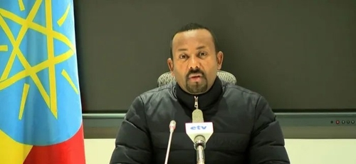 Abiy Ahmed, o primeiro-ministro da Etiópia. (Foto: Ethiopian Public Broadcaster)