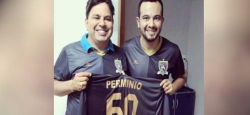 Médico Wallace Pinheiro tratou professor que o ajudou a entrar na universidade, em Goiás. (Foto: Reprodução/TV Anhanguera)