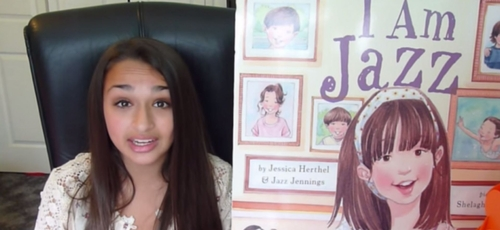 "Jazz Jennings, um adolescente transgênero e co-autor do livro ""I Am Jazz"". (Foto: YouTube/Jazz Jennings)"
